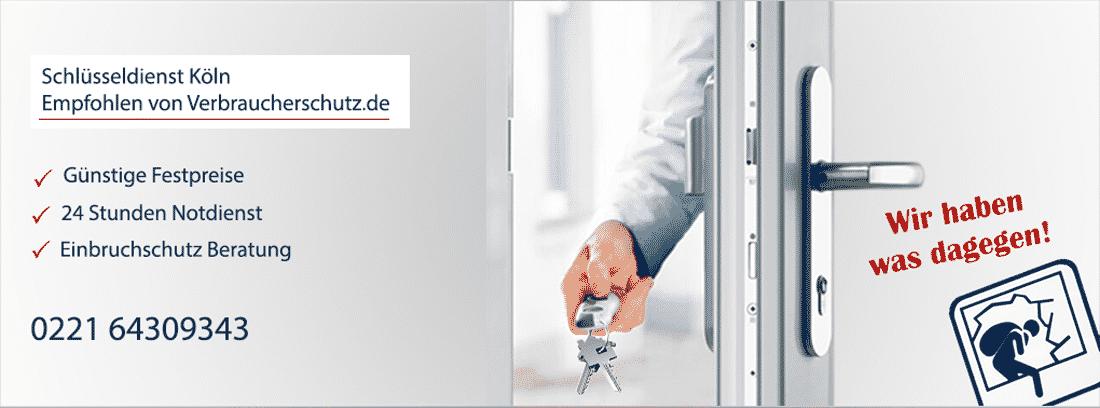 Mobiler Schlüsseldienst Köln - Empfohlen von Verbraucherschutz.de