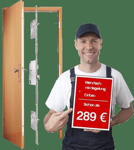 Mehrfachverriegelung nachrüsten in Köln bekommen Sie bei uns schon ab 289 Euro!